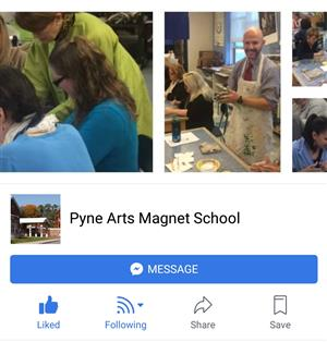 Pyne Arts Facebook Page