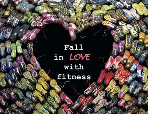 Fall in love with fintness