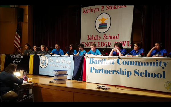 2018 Kathryn P. Stoklosa Middle School Knowledge Bowl