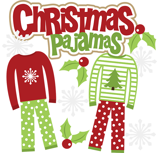 It's Holiday Pajama Day At McAvinnue!