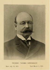Portrait of F.T.G