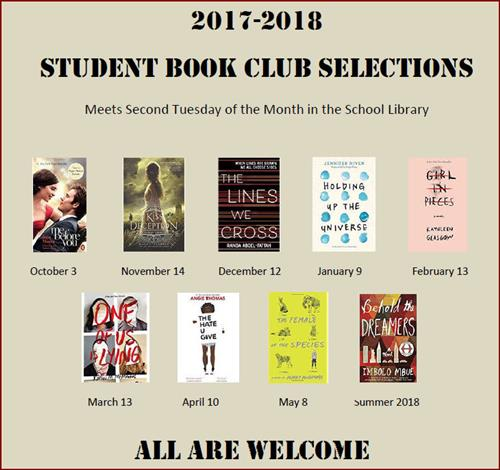 book club selections