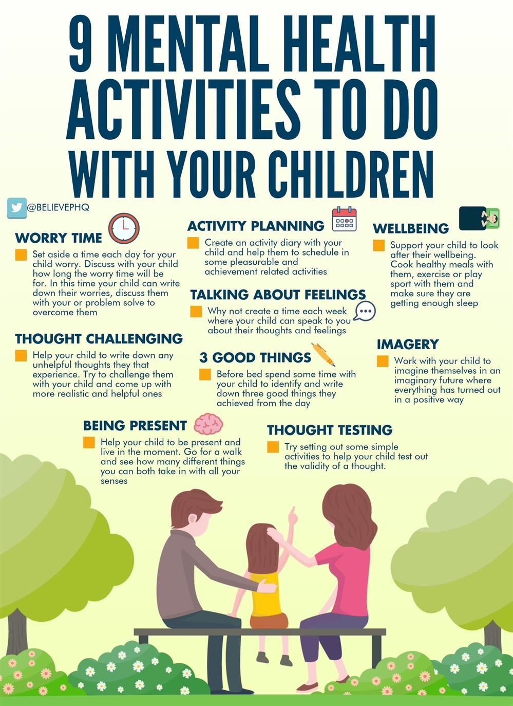 9 Mental Health Activities To Do With Your Child