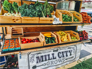 Mill City Grows Produce