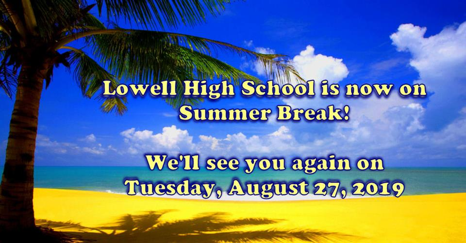 Lowell Public School Calendar 2019 Lowell High School / Homepage